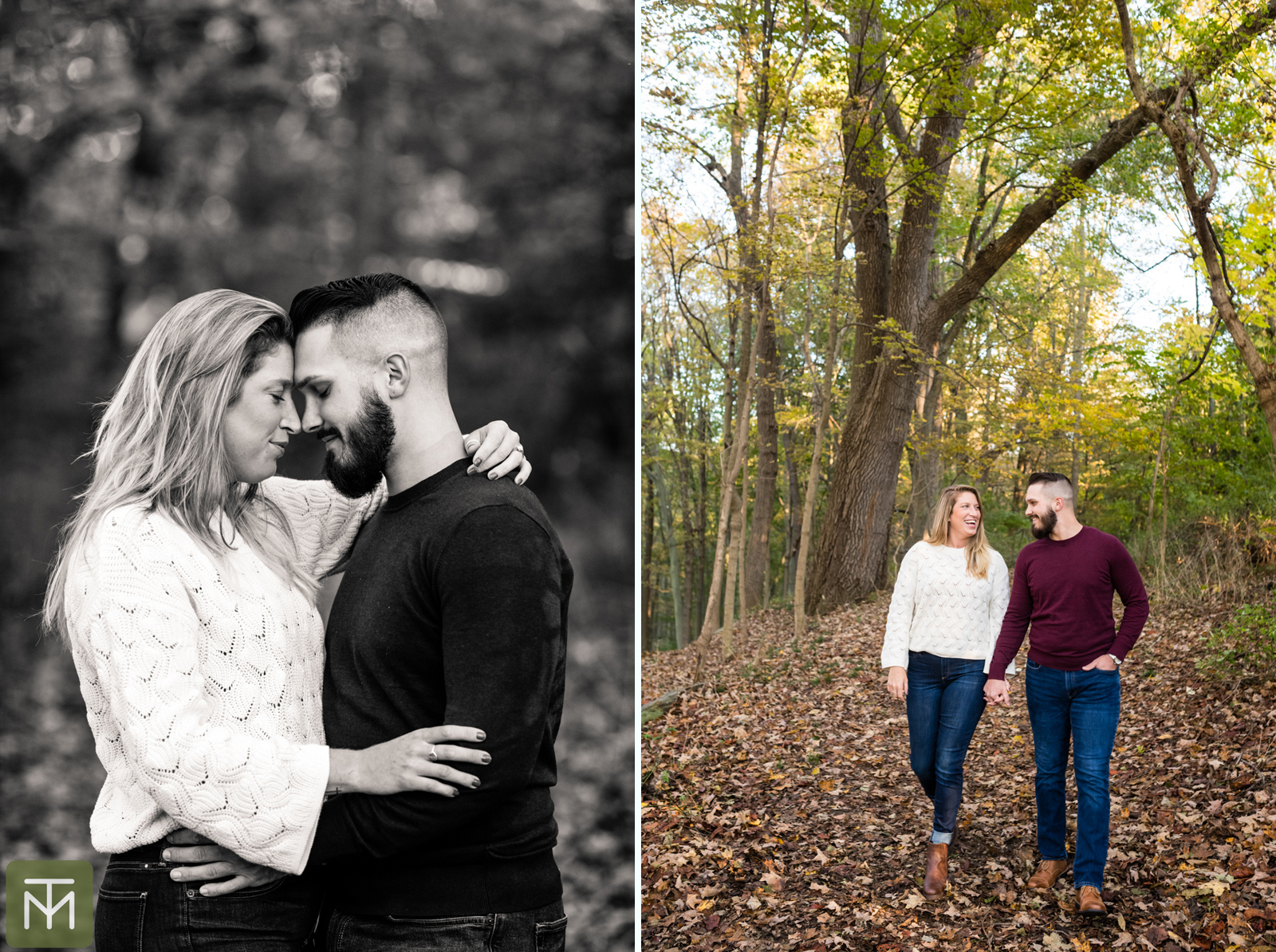 Michael & Anne {Esession by Tessa}